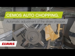 LEXION Auto Chopping: Automatic Ajustment of the straw chopper