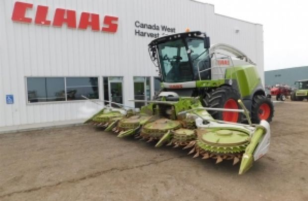2017 CLAAS Forage Harvester 960