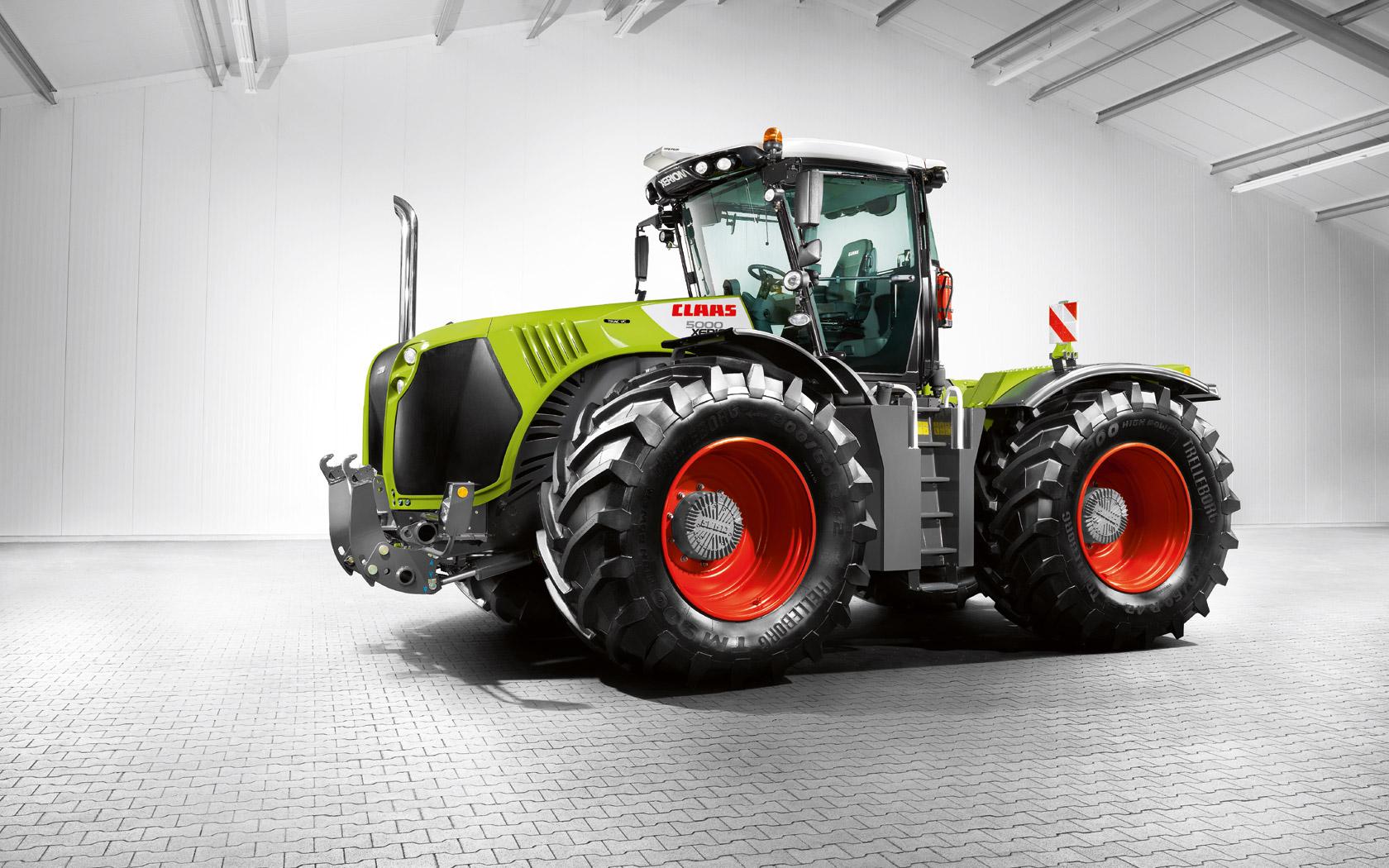 Ganz und zu Extrem Claas XERION 5000-4000 Tractor &FM_24